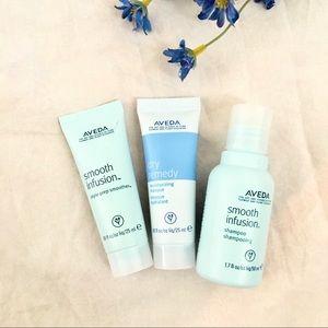 Aveda •new• Bundle Hair Travel shampoo mask style